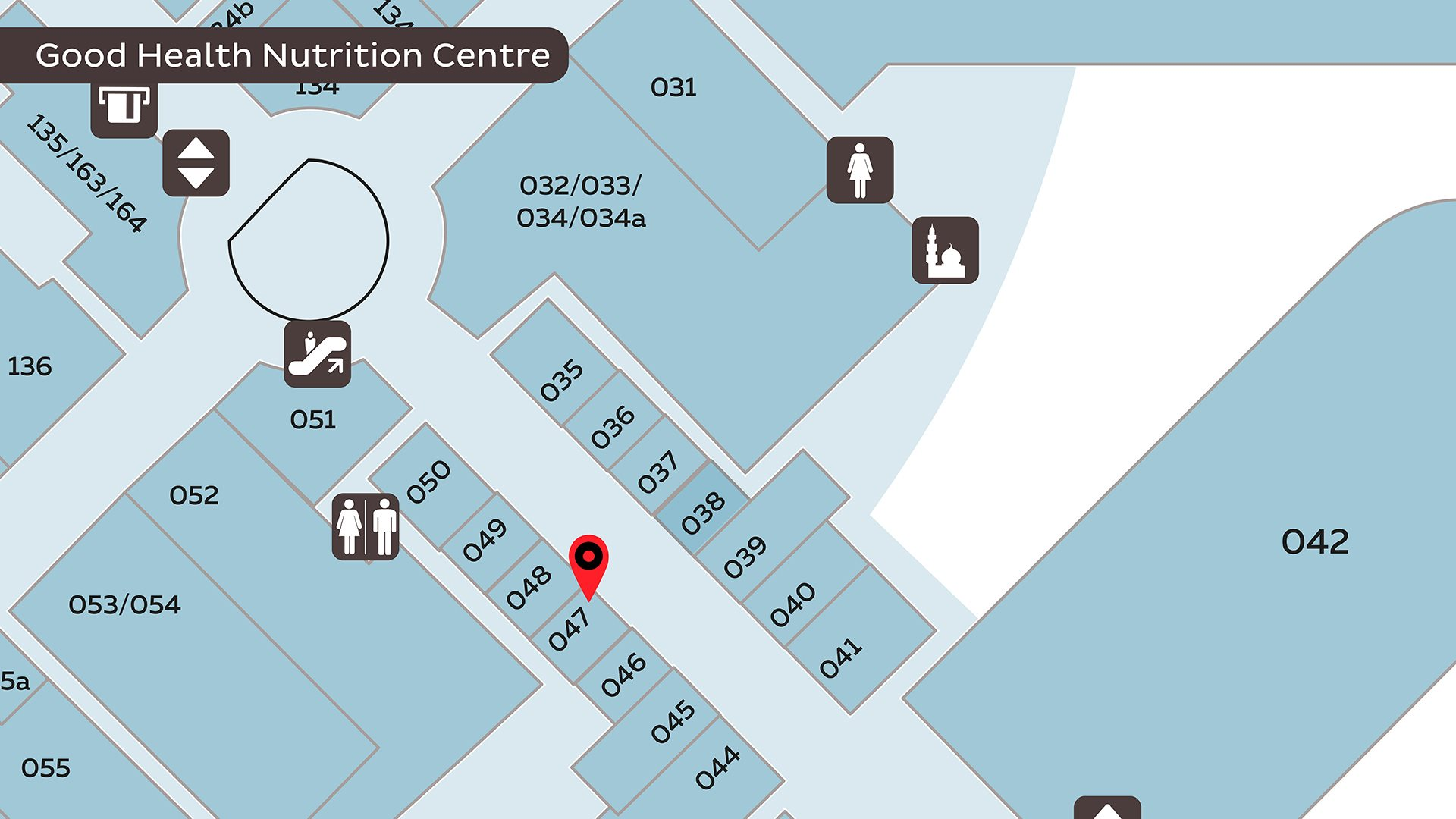 Good Health Nutrition Centre - Map