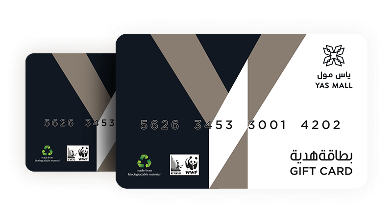 Purchase a Yas Mall Gift Card