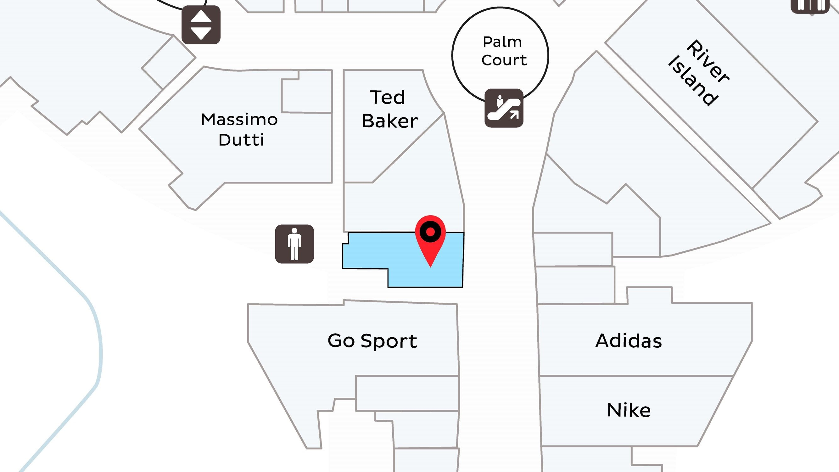 Athlete's Co - Map